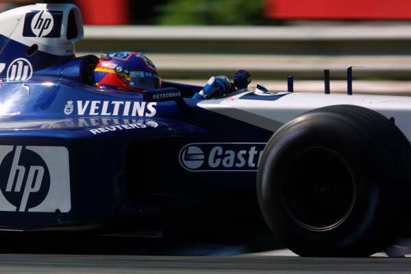 2002 Italian Grand Prix - Sunday RaceMonza, Italy. 15th September 2002World Copyright - LAT Photographicref: digital file only