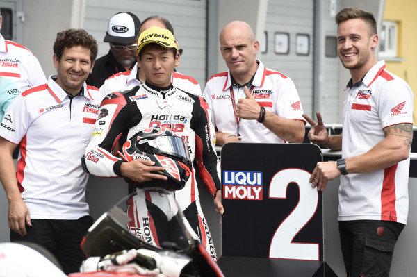Second place Kaito Toba, Honda Team Asia.