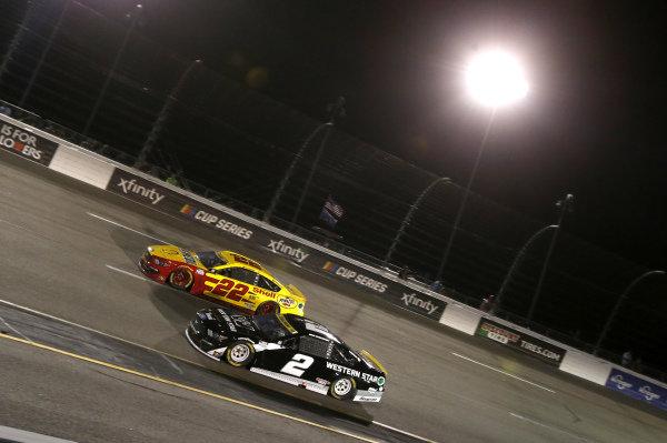 #2: Brad Keselowski, Team Penske, Ford Mustang Western Star, #22: Joey Logano, Team Penske, Ford Mustang Shell Pennzoil