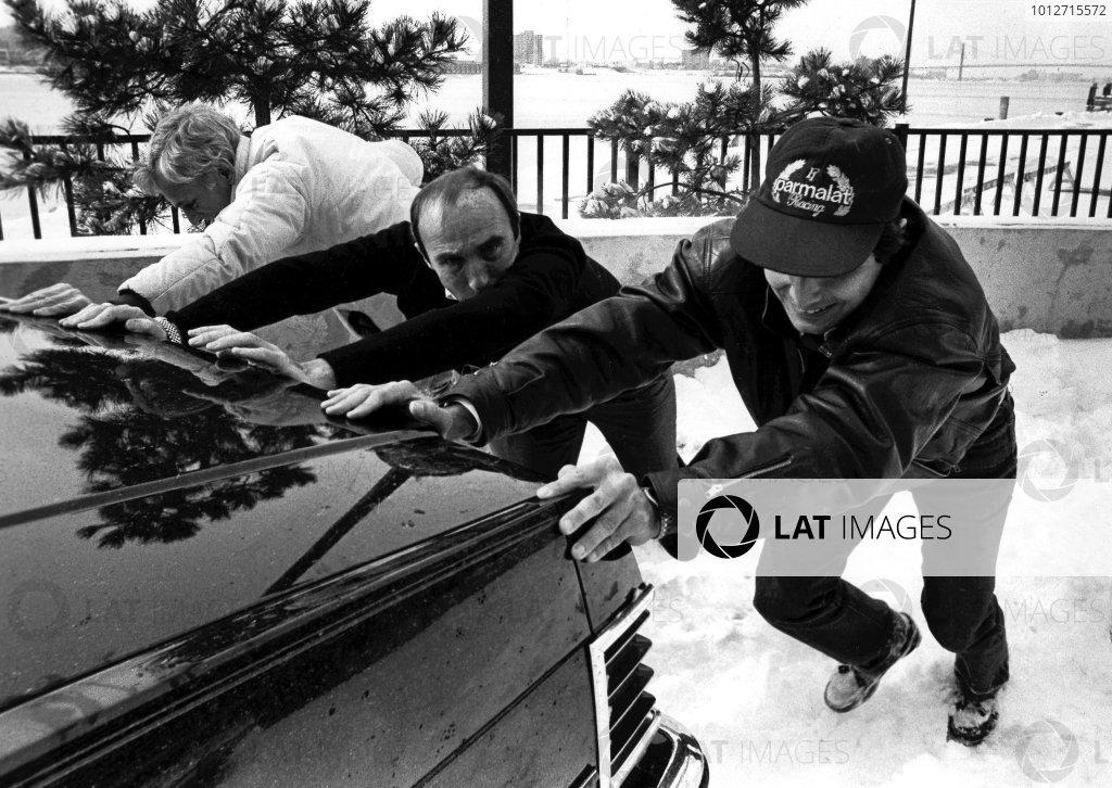 1982 United States Grand Prix East launch.