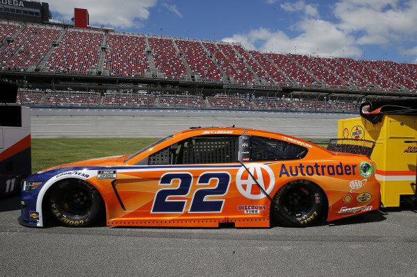 #22: Joey Logano, Team Penske, Ford Mustang Autotrader