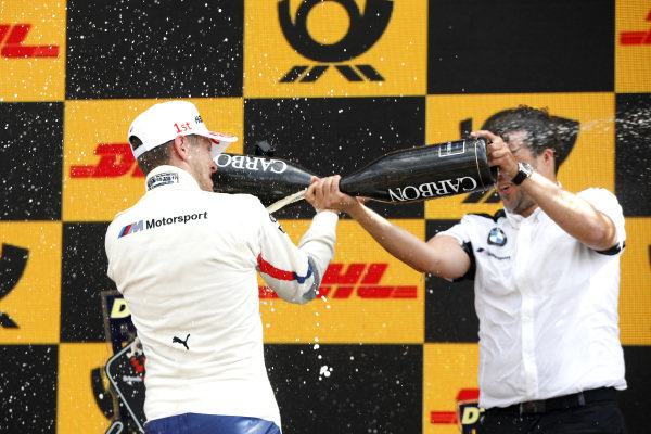 Podium: Marco Wittmann, BMW Team RMG.