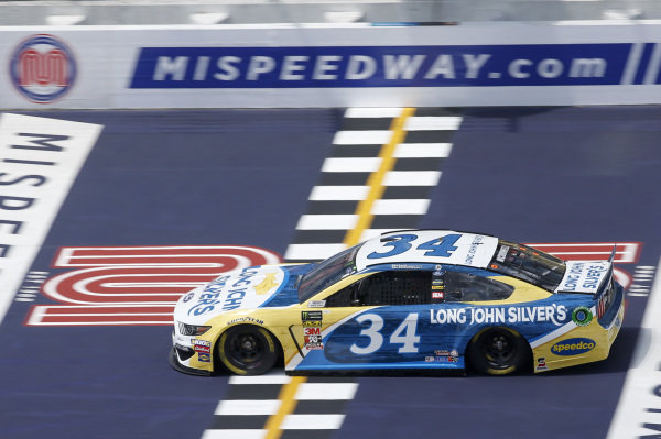 #34: Michael McDowell, Front Row Motorsports, Ford Mustang Long John Silver's