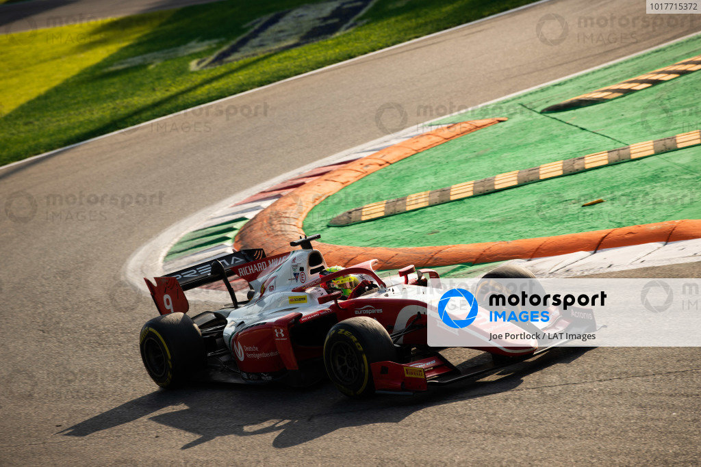 AUTODROMO NAZIONALE MONZA, ITALY - SEPTEMBER 07: Mick Schumacher (DEU, PREMA RACING) during the Monza at Autodromo Nazionale Monza on September 07, 2019 in Autodromo Nazionale Monza, Italy. (Photo by Joe Portlock / LAT Images / FIA F2 Championship)