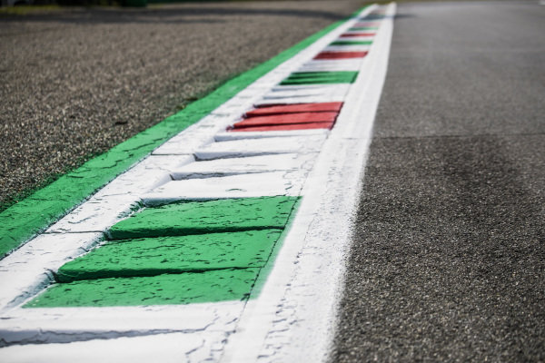 AUTODROMO NAZIONALE MONZA, ITALY - SEPTEMBER 05: Track Detail during the Monza at Autodromo Nazionale Monza on September 05, 2019 in Autodromo Nazionale Monza, Italy. (Photo by Sam Bloxham / LAT Images / FIA F2 Championship)