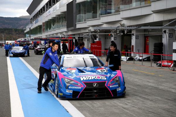 Kenta Yamashita, Lexus Team LeMans Wako's Lexus LC500.