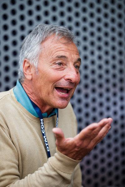 ex-F1 driver Riccardo Patrese