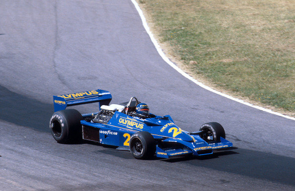 1978 Argentinian Grand Prix.Buenos Aires, Argentina. 13-15 January 1978.Divina Galica (Hesketh 308E Ford). She never qualified for a Grand Prix. Ref-78 ARG 07.World Copyright - LAT Photographic