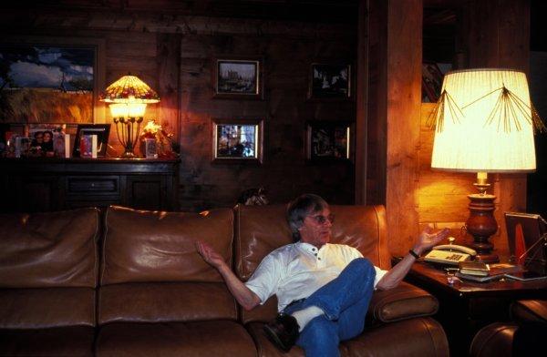 FOCA President Bernie Ecclestone (GBR) relaxes on holiday. Bernie Ecclestone Feature, Switzerland. BEST IMAGE