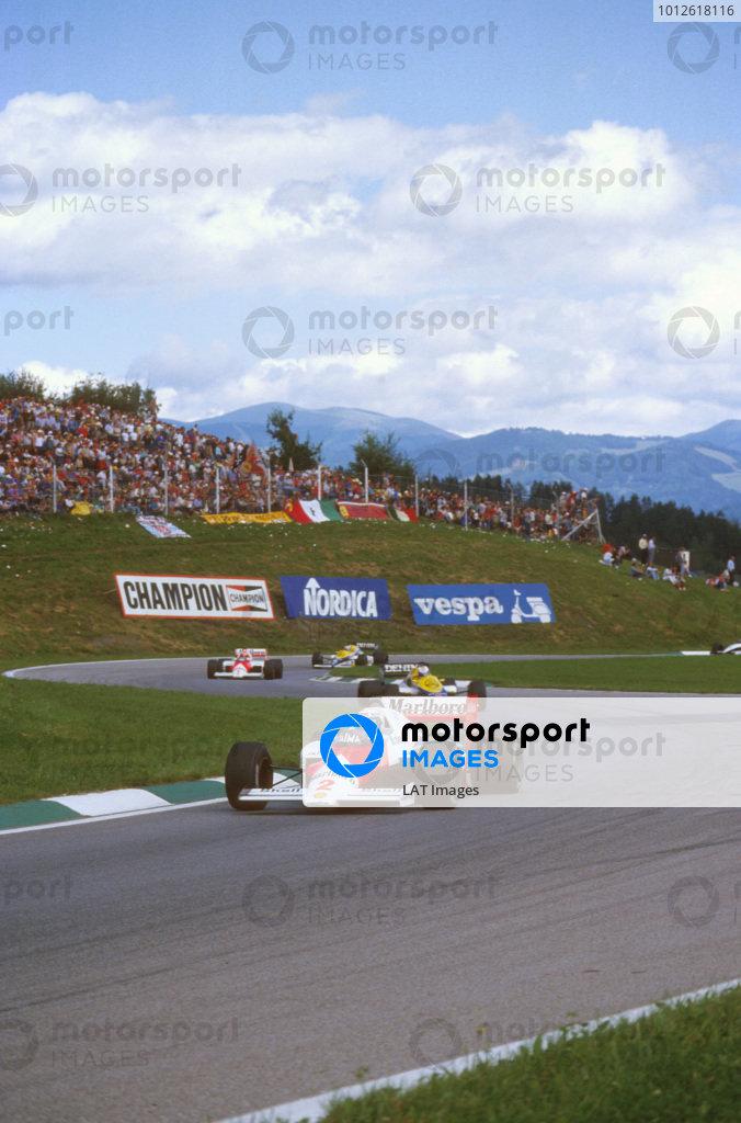 1985 Austrian Grand Prix.