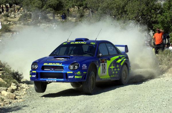 2001 World Rally ChampionshipCyprus Rally June 1-3, 2001Toshihiro Arai on Stage 5Photo: Ralph Hardwick/LAT