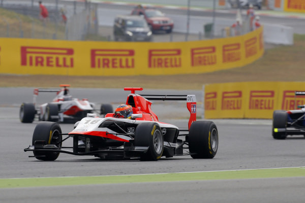 Dean Stoneman (GBR) Marussia Manor Racing. GP3 Series, Rd1, Barcelona, Spain, 9-11 May 2014.