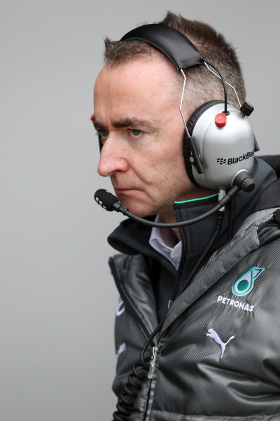 Paddy Lowe (GBR) Mercedes AMG F1 Executive Director (Technical). Formula One Testing, Jerez, Spain, Day Four, Friday 31 January 2014.
