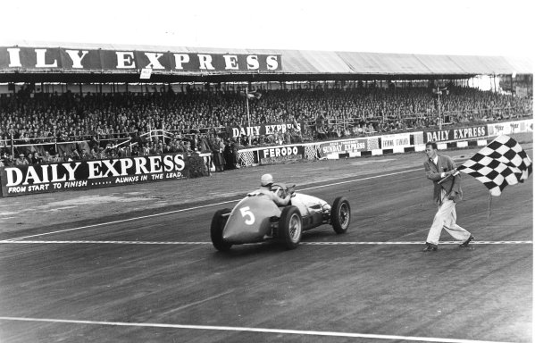 Silverstone, England. 