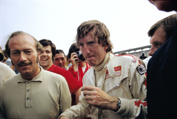 Colin Chapman and Jochen Rindt.