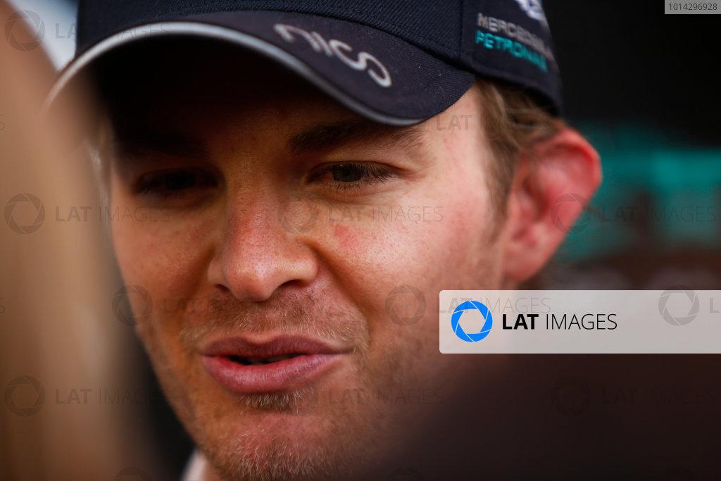 2015 F1 Pre Season Test 3 - Day 4 Circuit de Catalunya, Barcelona, Spain. Thursday  Sunday 1 March 2015. Nico Rosberg, Mercedes AMG.  World Copyright: Sam Bloxham/LAT Photographic. ref: Digital Image _14P5562