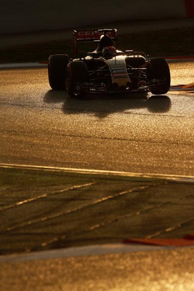 2015 F1 Pre Season Test 3 - Day 4 Circuit de Catalunya, Barcelona, Spain. Thursday  Sunday 1 March 2015. Max Verstappen, Toro Rosso STR10 Renault.  World Copyright: Sam Bloxham/LAT Photographic. ref: Digital Image _14P5484