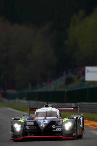 2015 FIA World Endurance Championship, Spa-Francorchamps, Belgium. 30th April - 2nd May 2015. Nick Leventis / Danny Watts / Jonny Kane Strakka Racing Strakka Dome S103 Nissan. World Copyright: Ebrey / LAT Photographic.