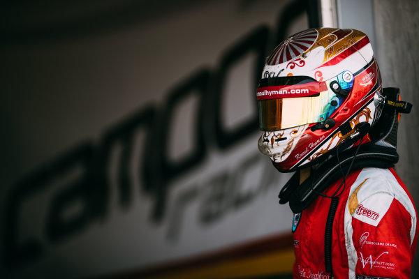 Bahrain International Circuit, Sakhir, Bahrain. Friday 31 March 2017 Raoul Hyman (RSA) Campos Racing Photo: Malcolm Griffiths/FIA Formula 2 ref: Digital Image MALC1654