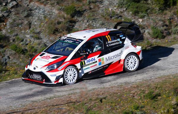 2017 FIA World Rally Championship, Round 04, Rallye de France, Tour de Corse, April 06-09, 2017, Juho Hanninen, Toyota, action Worldwide Copyright: McKlein/LAT