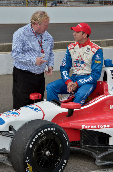 17-18 May, 2014, Indianapolis, Indiana, USA #19 Justin Wilson, Dale Coyne Racing with Dale Coyne ©2014 Dan R. Boyd LAT Photo USA