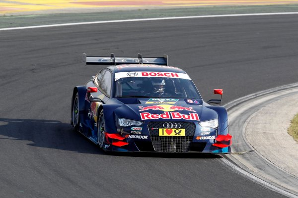 2014 DTM Testing. Hungaroring, Hungary. 31st March 2014. Adrien Tambay (FRA) Audi Sport Team Abt Sportsline Audi RS 5 DTM World Copyright: XPB / LAT Photographic. Ref: 3030989_HiRes.jpg