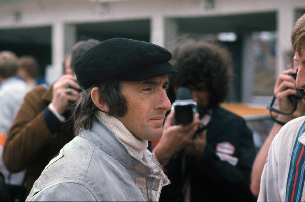 1972 German Grand Prix.  Nurburgring, Germany. 28-30th July 1972.  Jackie Stewart, Tyrrell.  Ref: 72GER30. World Copyright: LAT Photographic