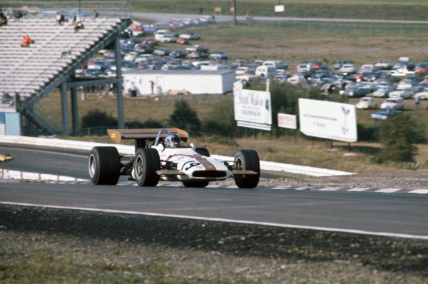 1970 United States Grand Prix.  Watkins Glen, United States. 2-4th October 1970.  Pedro Rodriguez, BRM P153, 2nd position.  Ref: 70USA03. World Copyright: LAT Photographic
