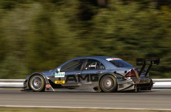 2004 DTM Championship.Brno, Czech Repulic. 18th - 19th SeptemberJean Alesi (Mercedes C-Klasse).World Copyright: Andre Irlmeier/LAT PhotographicRef:Digital image only