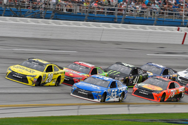 29 April-1 May, 2016, Talladega, Alabama USA Matt Kenseth, Dollar General Toyota Camry and Michael Waltrip ? 2016, Nigel Kinrade LAT Photo USA