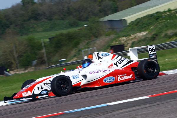 2016 British F4 Championship, Thruxton, 7th-8th My 2016, Jack Butel (GBR) JHR Developments MSA Formulaff  World copyright. Jakob Ebrey/LAT Photographic