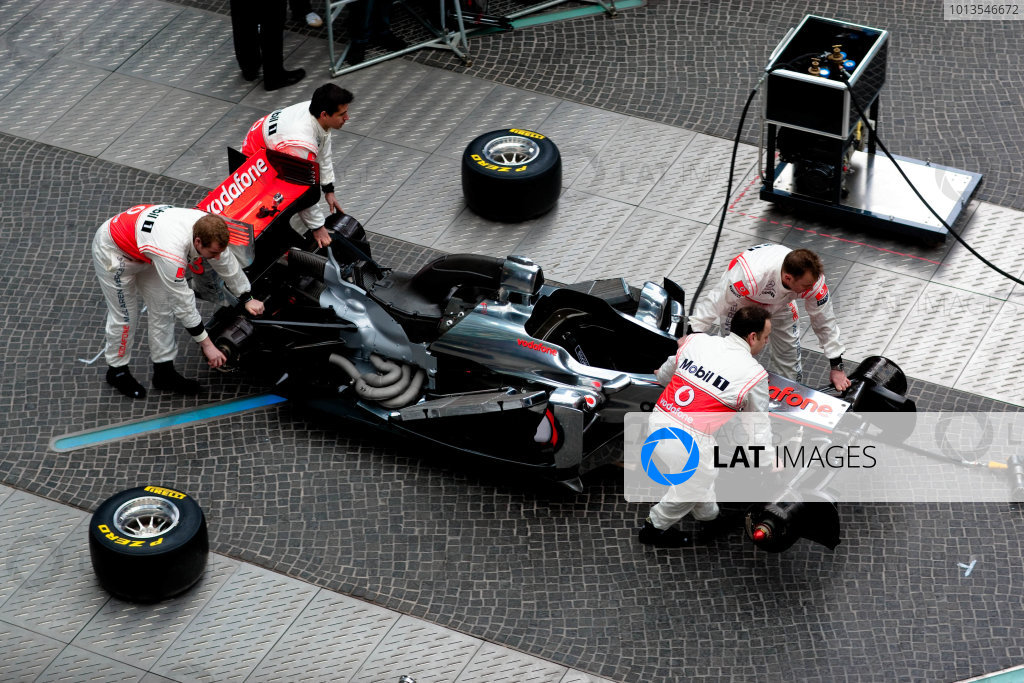 2011 McLaren MP4-26 Launch