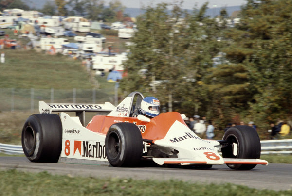 1979 United States Grand Prix East. Watkins Glen, NY, USA. 5-7 October 1979. Patrick Tambay (McLaren M29 Ford). Ref-79 USA 13. World Copyright - LAT Photographic