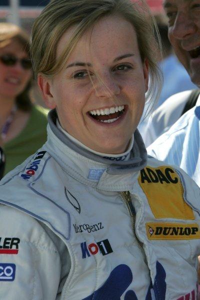 Susie Stoddart (SCO) TV Spielfilm AMG Mercedes  DTM, Rd 1, Hockenheim, Germany, Sunday 22 April 2007. DIGITAL IMAGE