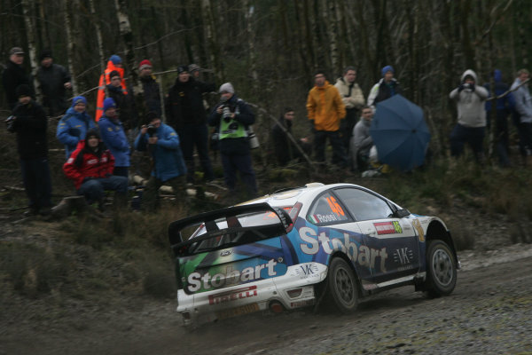 Round 15, Wales Rally GB, 4th-7th December 2008