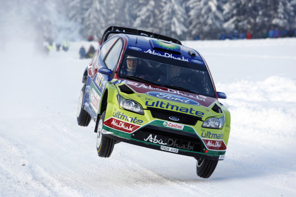 Round 02Rally Norway 12-15 February 2009Mikko Hirvonen, Ford, ActionWorldwide Copyright: McKlein/LAT