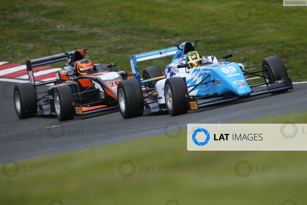 2016 BRDC F3 Championship  Oulton Park, Cheshire, 28th-30th May 2016, Enaam Ahmed (GBR) Douglas Motorsport BRDC F3  World Copyright.Ebrey/LAT Photographic