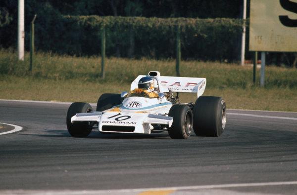 1973 Argentinian Grand Prix.  Buenos Aires, Argentina. 26-28th January 1973.  Carlos Reutemann, Brabham BT37 Ford.  Ref: 73ARG26. World Copyright: LAT Photographic
