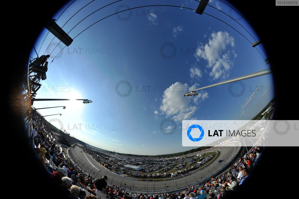 11-12 April, 2014, Darlington, South Carolina USA Fish eye view of Darlington Raceway ©2014 Scott R LePage  LAT Photo USA