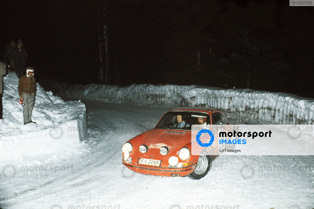 1969 Monte Carlo Rally.