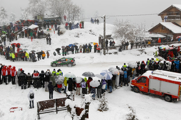 2014 World Rally Championship Monte Carlo Rally 13th - 19th January 2014 Yuriy Protasov, Ford, action Worldwide Copyright: McKlein/LAT