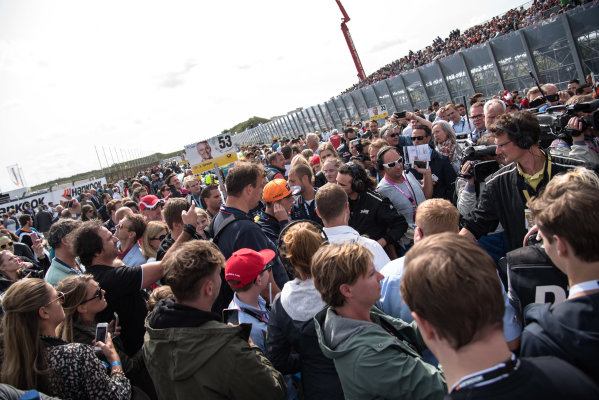 2017 DTM Round 6  Circuit Zandvoort, Zandvoort, Netherlands Sunday 20 August 2017. Max Verstappen, F1, Red Bull Racing World Copyright: Mario Bartkowiak/LAT Images ref: Digital Image 2017-08-20_DTM_Zandvoort_R2_0146
