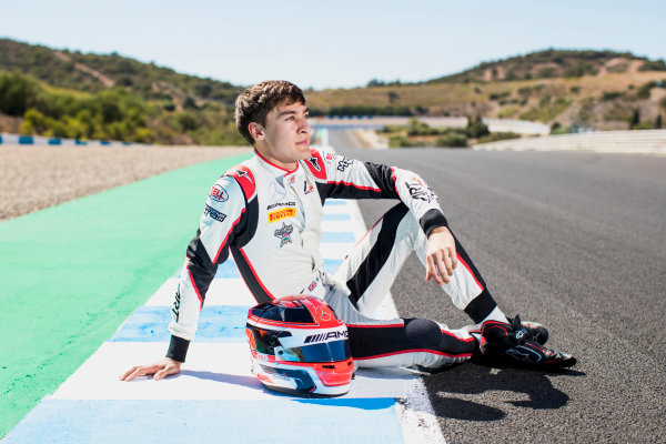 2017 GP3 Series Round 7.  Circuito de Jerez, Jerez, Spain. Sunday 8 October 2017. George Russell (GBR, ART Grand Prix).  Photo: Zak Mauger/GP3 Series Media Service. ref: Digital Image _56I3984