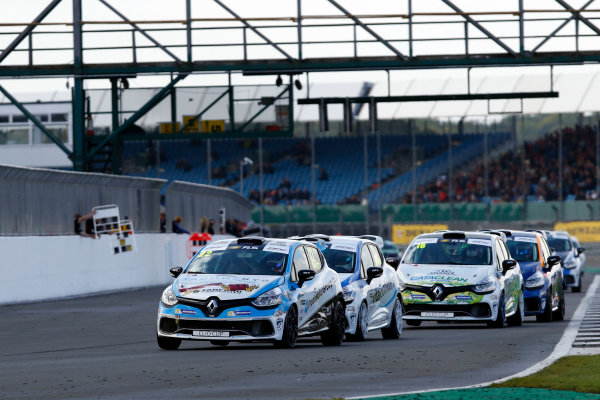 2017 Renault Clio Cup, Silverstone, Northants, UK. 16th-17th September 2017 Paul Rivett (GBR) WDE Motorsport Renault Clio Cup World copyright. JEP/LAT Images
