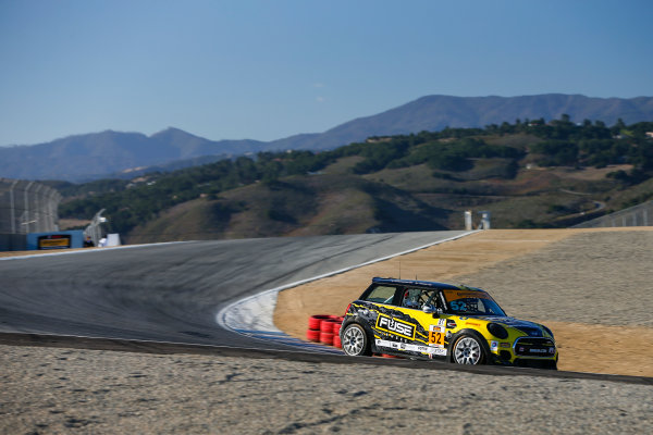 IMSA Continental Tire SportsCar Challenge Mazda Raceway Laguna Seca 240 Mazda Raceway Laguna Seca Monterey, CA USA Friday 22 September 2017 52, MINI, MINI JCW, ST, Nate Norenberg, Mark Pombo World Copyright: Jake Galstad LAT Images