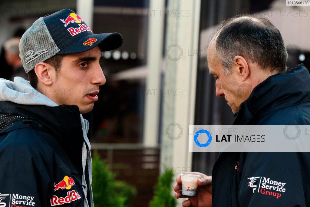 Albert Park, Melbourne, Australia24th March 2011.Sebastien Buemi, Toro Rosso STR6 Ferrari. Portrait. World Copyright: Charles Coates/LAT Photographicref: Digital Image _X5J7024