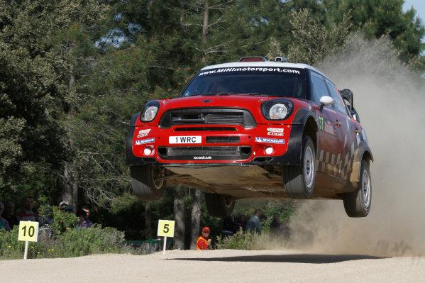 Round 05-Rally Italia Sardegna. 05th-08th May 2011.Dani Sordo, Mini WRC, Action.Worldwide Copyright: McKlein/LAT