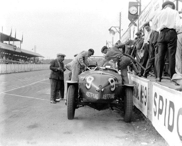 Le Mans, France.13-14 June 1931.Henri Trebor/Louis Balart (Lorraine-Dietrich B3-6), 4th position.Ref-Motor 756/3.World Copyright - LAT Photographic