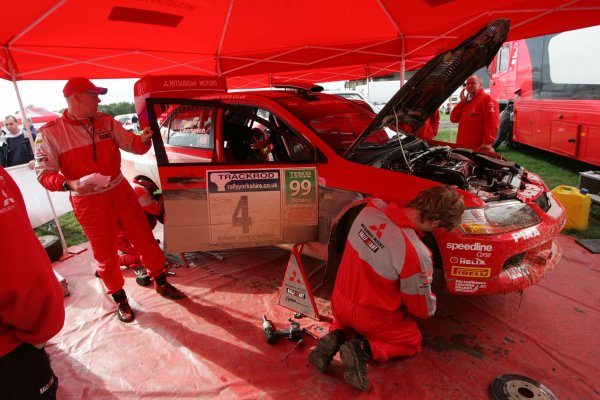 2006 British Rally ChampionshipTrackrod Rally, Yorkshire.7th October 2006Ryan Champion and Craig ThorleyWorld Copyright - Ebrey/LAT Photographic