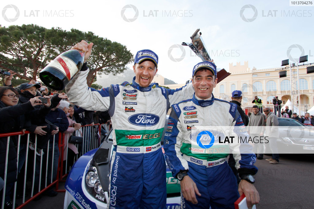 Round 01-Rally Monte Carlo 17-22 January 2012. Petter Solberg, Chris Patterson, Ford WRC, PortraitWorldwide Copyright: McKlein/LAT
